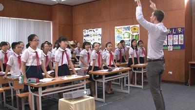 Demo tiết giảng mẫu Tiếng Anh 5 Tập 1 : Tiết 1/ Unit 1/ Lesson2