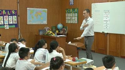 Demo tiết giảng mẫu Tiếng Anh 5 Tập 1 : Tiết 2/ Unit1/Lesson3